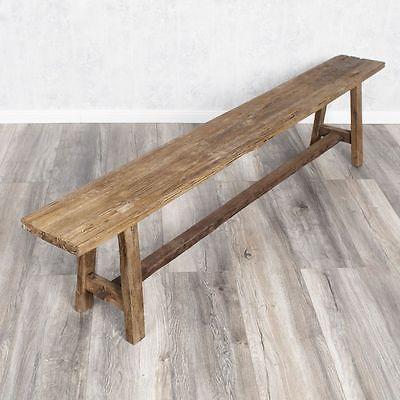 Massivholz Holzbank Sitzbank Teakholz Vintage Shabby Chic Bank Holz Teak Cmchic Chic Is A 2015 French R Wooden Bench Teak Country Style Furniture