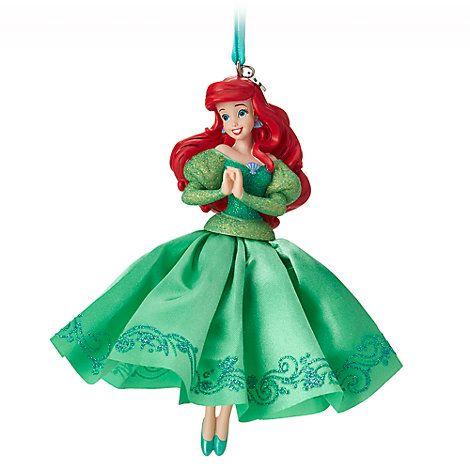 Addobbi Natalizi Walt Disney.Decorazione Da Appendere Ariel Disney Store Natale Disney Ornamenti Disney Ornamenti Natalizi