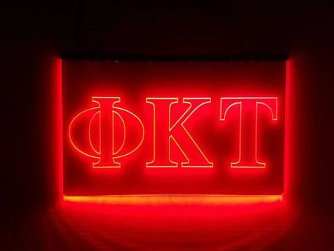 Details about  /Kappa Sigma LED Sign Greek Letter Fraternity Light