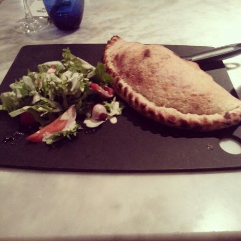 Calzone At Pizza Express Pizza Express Telford Pizza