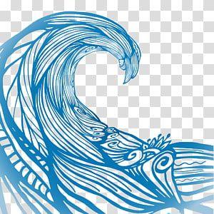 Blue Ocean Wave Illustration Wave Euclidean Water Ripples Transparent Background Png Clipart Wave Illustration Water Illustration Transparent Background