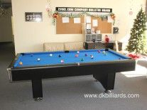Break Room Gets A Pool Table #pooltable #billiards Blue Felt | Pool Tables  | Pinterest | Break Room, Pool Table And Pool Table Sale