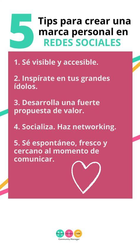 Tips para crear una marca personal en redes sociales
