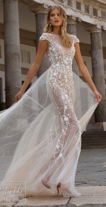 Berta Wedding Dresses Fall 2020 Napoli Bridal Collection Beach Wedding Guest Dress Bridal Outfits Fall Wedding Dresses