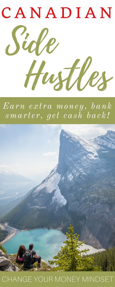 Are you Canadian and looking for ways to make extra money, build wealth, and change your money mind-set to create more abundance in your life? Check our these side hustles and earning opportunities that can help you get started creating a wealthier future for yourself and your family! #canada #sidehustles #money #wealth