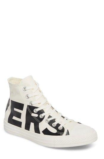 609e37234d CONVERSE ONE STAR WORDMARK HIGH TOP SNEAKER. #converse #shoes ...