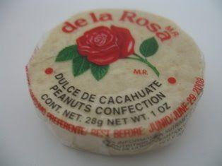 De La Rosa Dulce De Cacahuate (Peanut Candy)