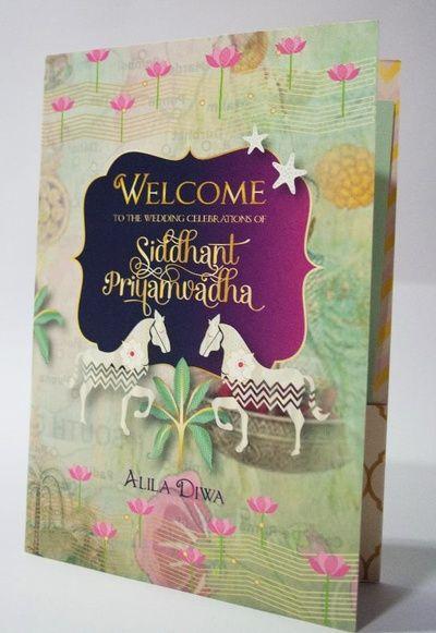 Unique Wedding Card Designs, Best Invitation Card Ideas Wedding - invitation card kolkata