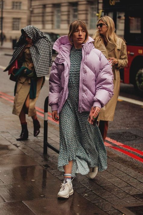 The Best Street Style From London Fashion Week London Fashion Week Street Style 2018
