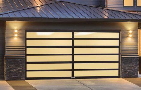Introducing Multiview Doors Unique And Modern Aluminum And Glass Garage Doors Garagedeur Garage Ontwerp Deurontwerp