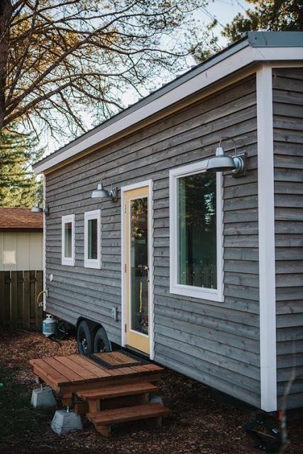 306 Sqft Scandinavian Style Tiny House In Portland Oregon Tiny
