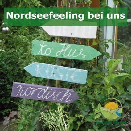 Nordseefeeling Bei Uns Gartenecke Garten Deko Garten
