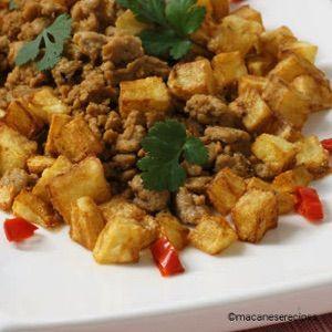 Macau Beef And Pork Mince Minchi Recipe Macanese Minchi Minchi Recipe Macanese Food Main Dish Recipes