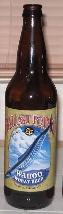 Cerveja Ballast Point Wahoo Wheat Beer - Ballast Point