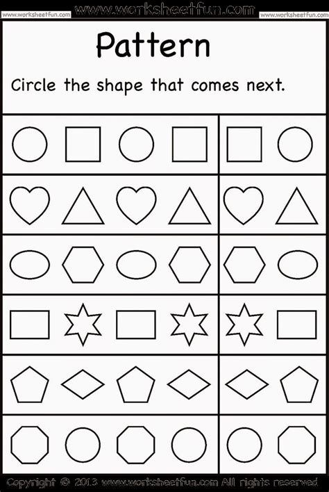 Pin By Maureen Sundberg On Juga Pattern Worksheet School