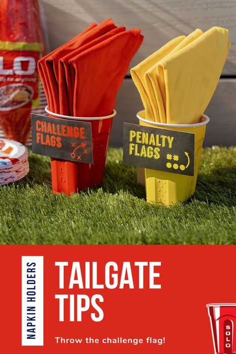 Tailgate Tips & Ideas 49ers Birthday Party, Sports Themed Birthday Party, Football Birthday, Sports Party, First Birthday Parties, Boy Birthday, First Birthdays, Birthday Ideas, Football Themes