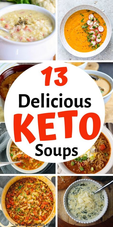 Best Low Carb Keto Soup Recipes That'll Make Your Mouth Water - juelzjohn