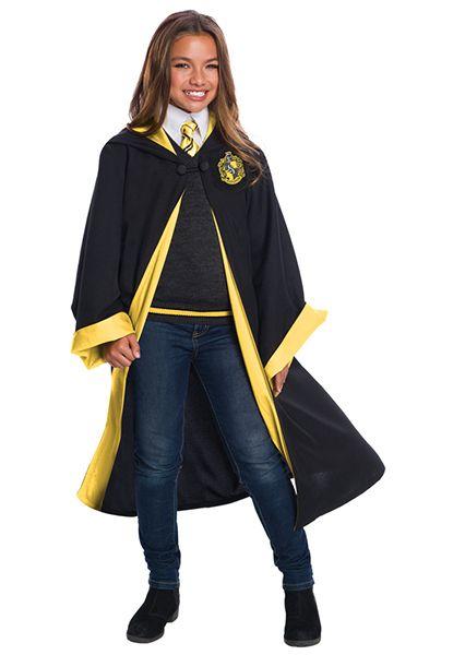 Child S Deluxe Hufflepuff Costume Set Hufflepuff Costume Student Costume Hufflepuff Students
