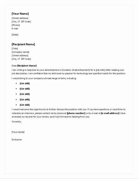 Microsoft Word Cover Letter Templates New Cover Letter For Chronological Resume Cover Letter For Resume Resume Cover Letter Template Sample Resume Cover Letter