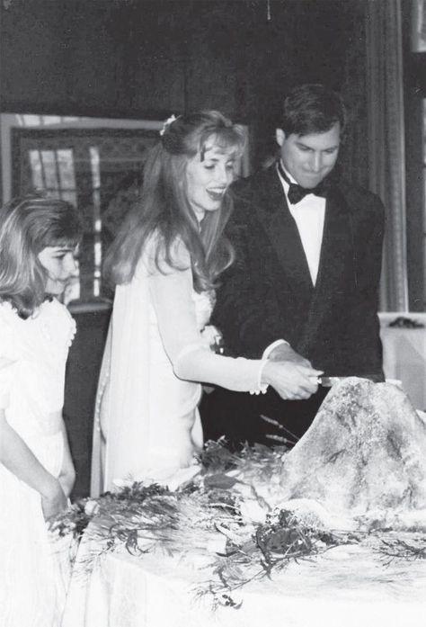 Laurene Powell And Steve Jobs 1991