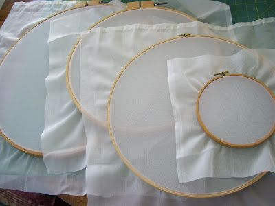 How to Make Screen Printing Frames with Embroidery Hoops