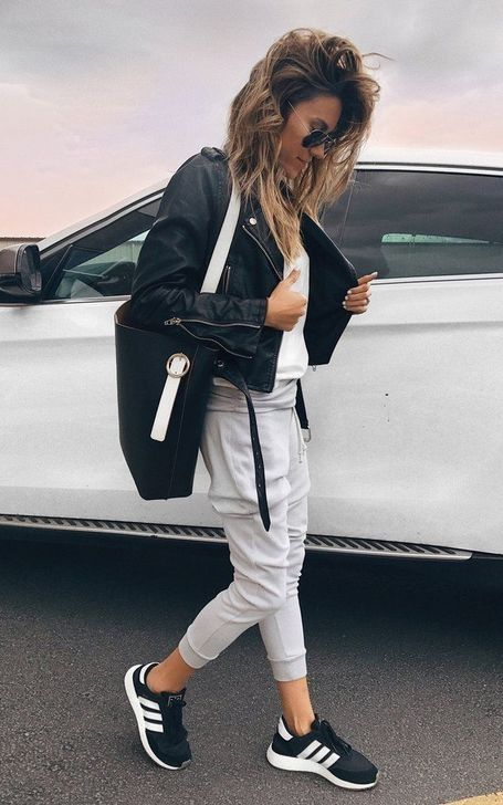 Jogger pants outfit, Joggers outfit