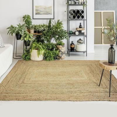cdiscount tapis salon tapis jute