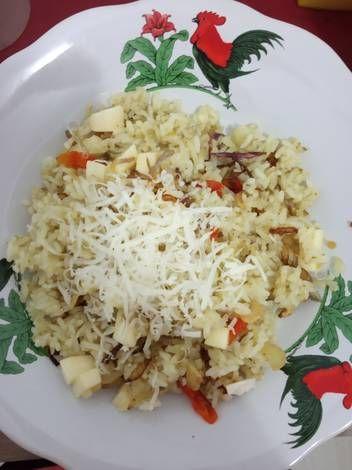 Resep Nasi Nyanyah Keju Oleh Aimee Ramadhania Resep Resep Makanan Memasak Resep Masakan