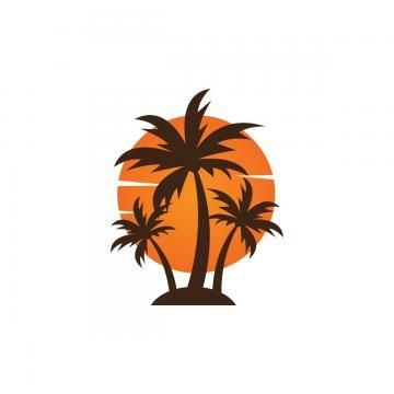Summer Logo Summer Logo Palm Tree Icon Tree Icon