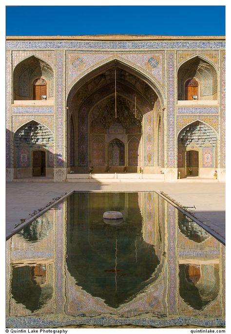 Pink Mosque (Nasir al-Mulk), Shiraz, Iran. Photo: Quintin Lake