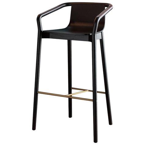 Sp01 Thomas Barstool High In Carbon Stained Ash By Metrica In 2020