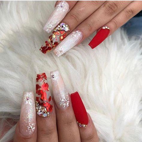 winter nails, winter nail colors, dark winter nails, winter nails 2019, winter nail designs 2019, winter nails colors, winter nail colors 2019, winter nail colours, christmas nails #christmasnails #winternails