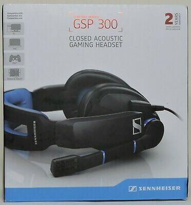 Sennheiser GSP 300 Black Headband Headsets
