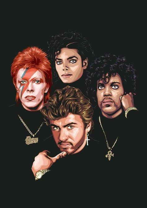 In my opinion Prince should be in the middle!💜
