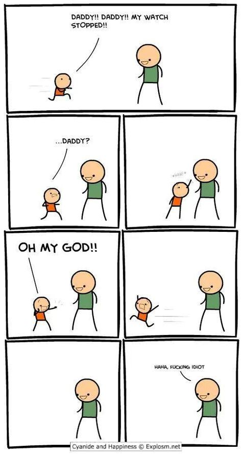 144 Brutally Hilarious Comics For People Who Like Dark Humor (Cyanide & Happiness) Really Funny, Funny Cute, The Funny, Crazy Funny, Stupid Funny Memes, Funny Posts, Funny Stuff, Funny Troll, Hilarious Quotes