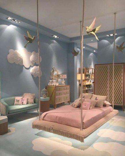 Tante idee d'arredo per camere da letto per ragazze e bambine. Attractive Colorful Bedroom Ideas 36 Camera Da Letto Idee Arredamento Camera Da Letto Camerette