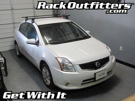 Nissan Sentra Thule Traverse Square Bar Roof Rack 07 12 Com Imagens Carros Legais Carros