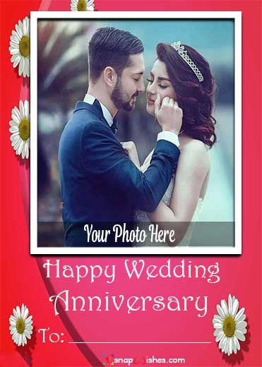 Happy Anniversary Card With Name Edit In 2020 Happy Anniversary Cards Happy Marriage Anniversary Anniversary Wishes For Couple