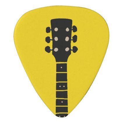 Guitar Neck Handwritten Name Vivid Yellow Guitar Pick Zazzle Com In 2021 Guitar Neck Guitar Picks Diy Guitar