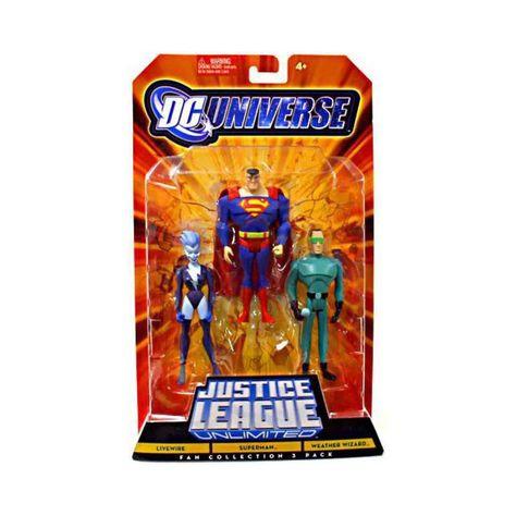 JUSTICE LEAGUE UNLIMITED LIVEWIRE DC Universe Action FIGURE