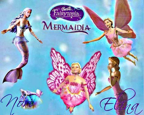 Nonton Film Barbie Fairytopia Sub Indonesia Barbie Fairytopia Mermaid Movies Barbie