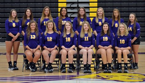 2018 Women's Volleyball Roster
