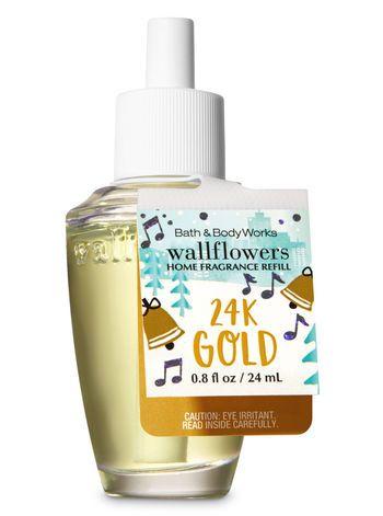 24k Gold Wallflowers Fragrance Refill Bath And Body Works Bath And Body Works Bath And Body Home Fragrance