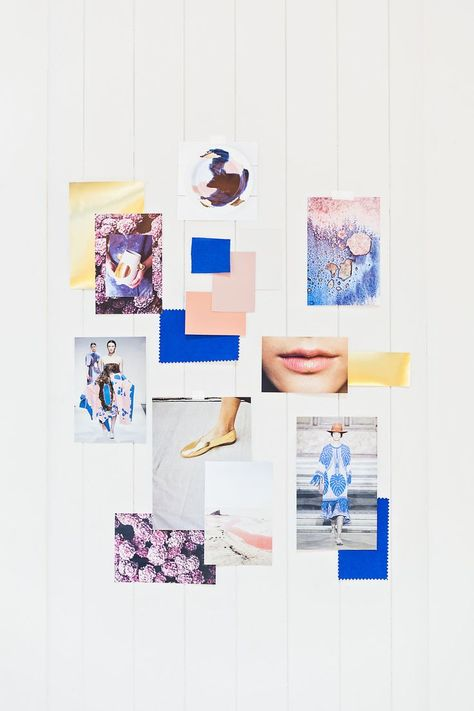 36 ideas for fashion collage moodboard colour