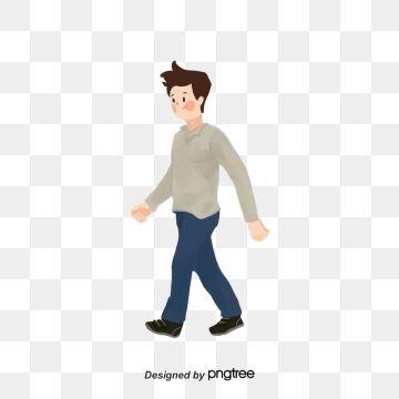 Cartoon Person Walking Png Person Cartoon Cartoon Silhouette Walking Cartoon