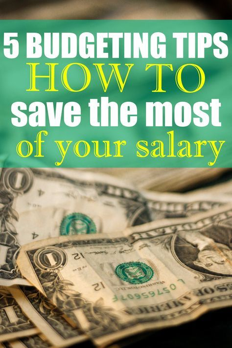 How To Save Money From Salary Percentage