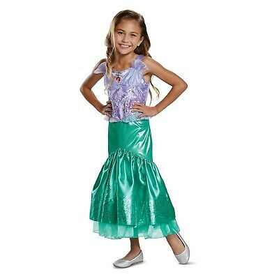 Medium//7-8 Disguise Costumes Elsa Sparkle Deluxe Frozen Disney Costume