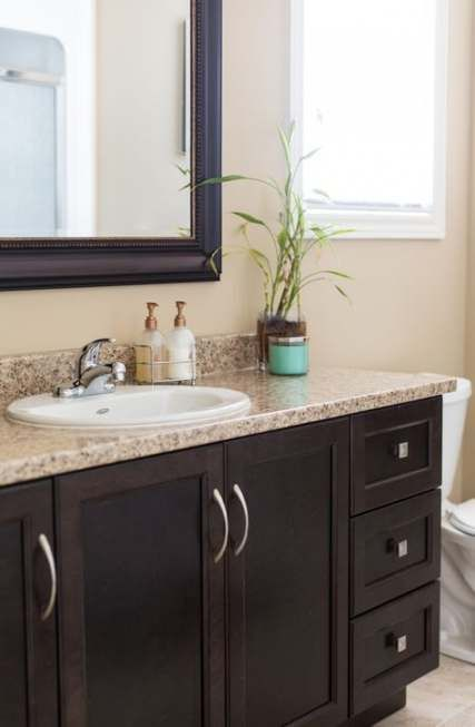 Bathroom Vanity Dark Brown Floors 43 Ideas Bathroom Dark Brown