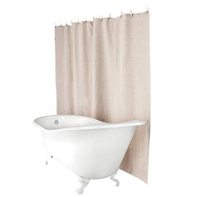 Plastic Free Hemp Shower Curtain A A A A Sand Non Plastic Shower Curtain Curtains Shower