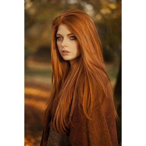 Gorgeous Long Red Hair Gorgeous Long Red Hai Haarfarben Lange